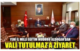 YENİ İL MİLLİ EĞİTİM MÜDÜRÜ ALDOĞAN'DAN...