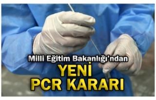 YENİ  PCR KARARI!