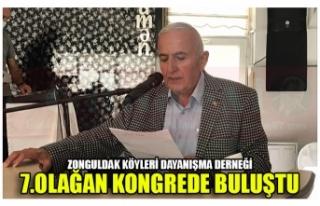 ZONGULDAK KÖYLERİ DAYANIŞMA DERNEĞİ 7.OLAĞAN...
