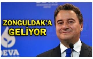 ZONGULDAK'A GELİYOR