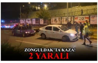 ZONGULDAK'TA KAZA! 2 YARALI