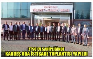 ZTSO EV SAHİPLİĞİNDE KARDEŞ ODA İSTİŞARE TOPLANTISI...