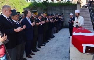 86 yaşında vefat eden Kore gazisi son yolculuğuna...