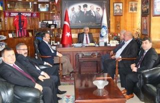 Orman-İş Genel Başkanı GMİS'i ziyaret etti