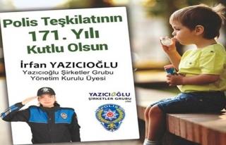 Yazıcıoğlu,Polis Teşkilatının 171´nci...