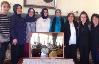 Zonguldak Valisi Ali Kaban'ın Eşi Neriman Kaban'ı...