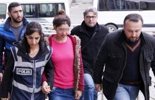 Genç Kadının yargılanmasına devam edildi