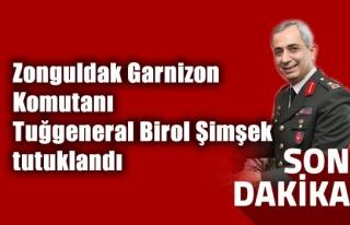 Zonguldak Garnizon Komutanı Tuğgeneral Birol Şimşek...