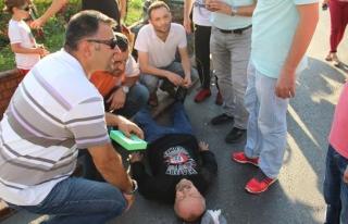 Ereğli´deki kazada 1 kişi yaralandı