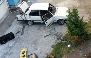 Alapı´da 2 ayrı kaza,1 Ölü,2 Yaralı