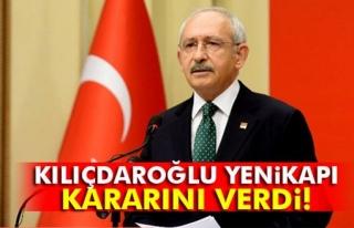 CHP kararını verdi