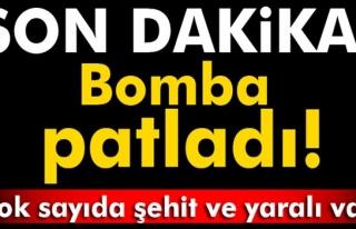 Şırnak'ta askeri aracın geçişi sırasında patlama:...