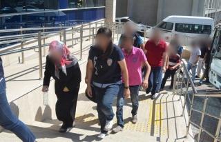 FETÖ soruşturmasında gözaltındaki 10 şüpheli...