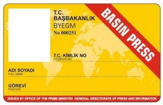 Sarı basın kartları iptal mi ediliyor ?