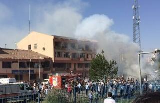 Elazığ Emniyet Müdürlüğü yakınlarında patlama!