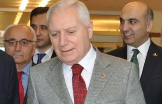 Mehmet Haberal Dünya Organ Nakli Derneği Başkanlığına...