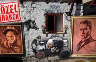 Ereğli'li genç ressam destek bekliyor