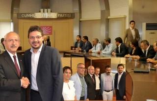 Alevi Kültür Derneği'nden CHP Genel Merkezine...