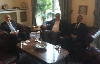 Çaturoğlu, Londra Büyükelçisi Abdurrahman Bilgiç'e...
