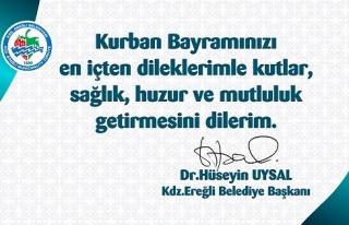 Kdz.Ereğli Belediye Başkanı Op.Dr. Hüseyin Uysal,...