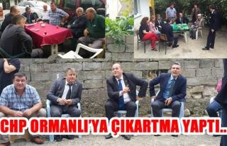 CHP Ormanlı Belde Başkanı Ergün,Vatandaşlarımızın...