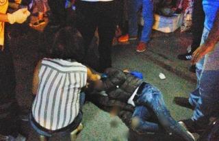Erdemir Caddesinde motosiklet kazası: 2 Yaralı