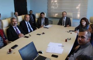 Sağlık Müdürlüğü'nde ASKOM toplantısı yapıldı
