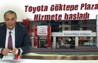 Toyota Göktepe Plaza Hizmete başladı