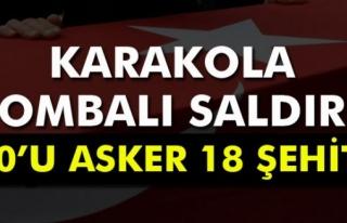 Şemdinli'den kahreden haber: 10´u asker 18...