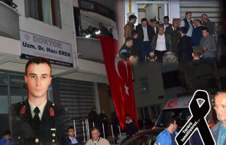 Şehit Jandarma Üsteğmen Öncel, son yolculuğuna...