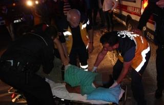 Alkollü şahıs polislerle adeta köşe kapmaca oynadı
