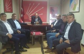 Belediye Başkanlarından Ocakçıya ziyaret