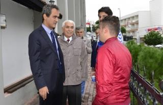 Rektör Özer, Alaplı Meslek Yüksekokulu'nu ziyaret...