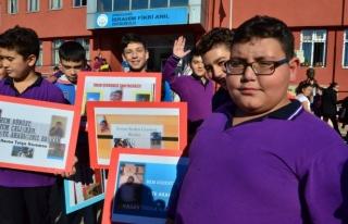 Okulun en renkli başkan adayı