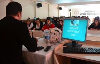Girişimcilik bilgilendirme semineri yapıldı