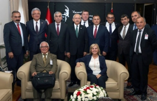 Madenci,CHP Genel Başkanı Kılıçdaroğlu'nu ziyaret...