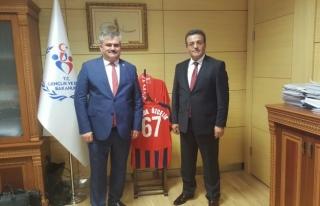 Çaturoğlu; Gençlik ve Spor bakanlığı ile PTT...