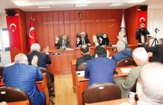 Zonguldak İl Genel Meclisi toplandı