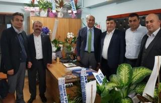 Türk Metal´den Sarıhan´a ziyaret