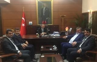 Çaturoğlu, Zonguldak'ta ziyaretlerde bulundu
