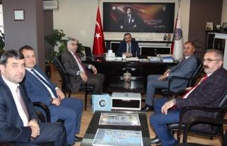 GMİS'ten Emniyet Müdürü Turanlı'ya Hayırlı...