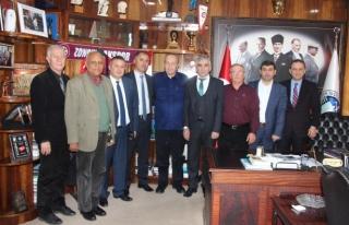 Hattat'tan GMİS'e dünya madenciler günü ziyareti