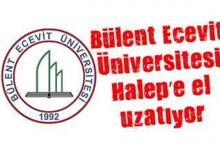 Bülent Ecevit Üniversitesi Halep'e el uzatıyor