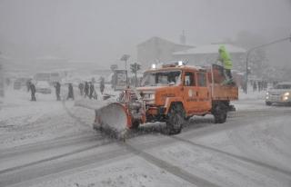 Belediye kış şartlarına hazır
