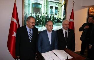Fotoğraflarla Bakan Kılıç'ın Zonguldak programı
