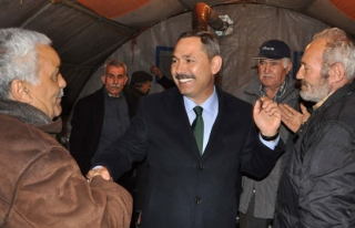Başkan Uysal, Belen'de halkla buluştu