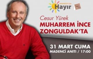 Yarın Zonguldak'ta...