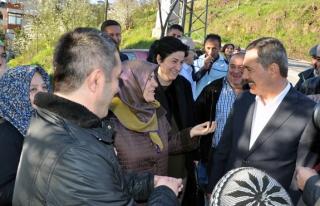 Başkan Uysal, Sakindere halkıyla buluştu