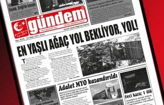 14 Nisan 2017 Gündem Gazetesi