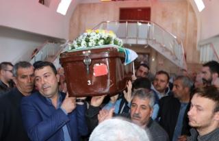 Baba Atayan, son yolculuğuna uğurlandı